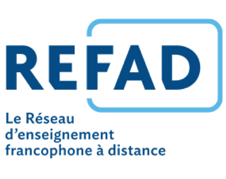Logo REFAD bleu